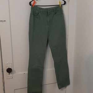 Banana Republic Olive Jeans